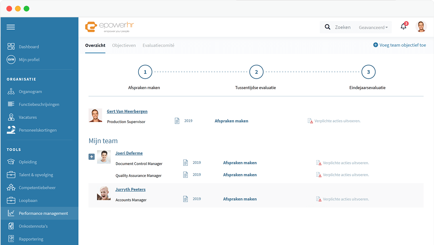 HR Software - Performance management