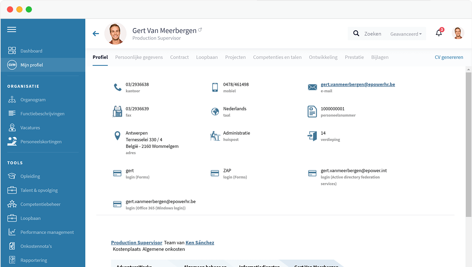 HR Software - Personeelsadministratie